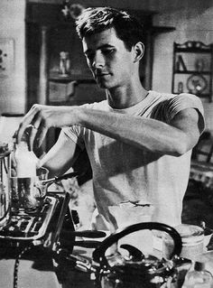 Anthony Perkins in On the Beach, 1959.