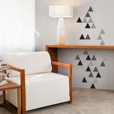 Adesivo Triângulos - Decohouse