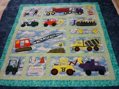 Sports Quilt Patterns for Boys | Girl or Boy Nursery Quilt Blocks, Quilt Patterns