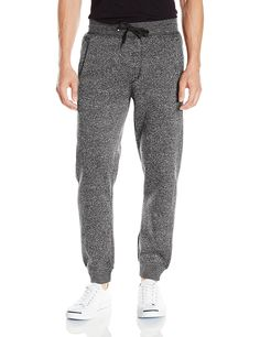 Southpole Men's Jogger Pants Basic Fleece Solid Clean In Marled Colors, Marled Black, XX-Large Marled jogger pant featuring elastic waist with tie and banded ankle cuffs Slanted hand pockets Single patch pocket with logo at back Mens Jogger Pants, Fleece Joggers, Men's Pants, Sweatpants With Pockets, Online Shopping Usa, Shopping Stores, Mens Xl, Men Casual, Mens Fashion