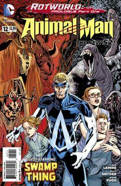 Animal Man #12 - Rotworld: Prologue, Part One