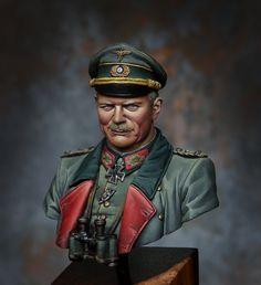Heinz Wilhelm Guderian, General del Ejército Alemán, especialista en carros blindados y uno de los artífices de la Guerra Relámpago (Blitzkrieg)