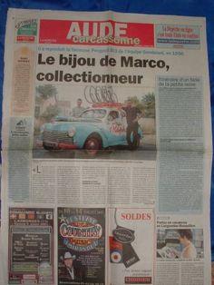 Image - LA 203 FAIT LA UNE . - 203 peugeot saint-raphaël géminiani - Skyrock.com