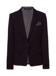 Image 6 of BLAZER WITH COMBINATION ELBOW PATCHES from Zara