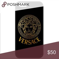 iPhone 7 Plus hard case A luxurious Versace print case compatible with the iPhone 7 Plus. Perfect for showing off and marking ur phone look sleek and classy✨price reflects Versace Accessories Phone Cases