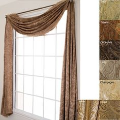 Home Classics Voile Window Scarf