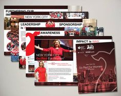 American Heart Association NYC Go Red For Women ROI Design