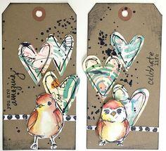 Dina bird 01 - You are amazing/Celebrate Life tags