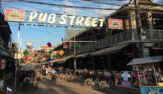 Pub Street Siem Reap, Tourist Spots, Cebu, Cambodia, Street View, Travel, Viajes, Destinations, Traveling