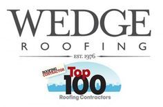 Top 100 Roofing Contractors 2016 includes San Francisco Bay Area Roofing Company. www.wedgeroofing..com