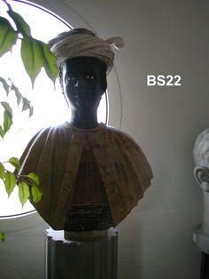 """Busto """"Moro di Venezia"""" in marmo - http://www.achillegrassi.com/it/project/busto-moro-di-venezia-in-marmo-bianco-carrara-giallo-reale-nero-marquina/ - Splendido esempio, di un busto raffigurante il """"Moro di Venezia"""" inMarmo bianco Carrara, Giallo Reale, Nero Marquina  Dimensioni:  85cm (H)"""