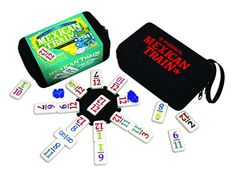 Mexican Train To Go, Number Dominoes Puremco http://www.amazon.com/dp/B001E747X4/ref=cm_sw_r_pi_dp_C.-vwb03TYD08