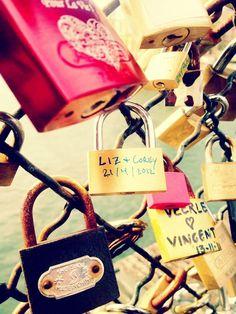 Pont des Arts // Lock Bridge // Paris, France