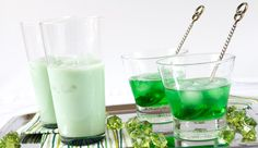 Green Drinks For St Patricks Day