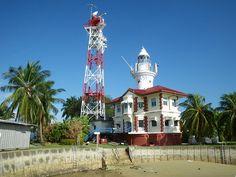 Sultan Shoal lighthouse [1896 - Selat Jurong Island, Singapore]