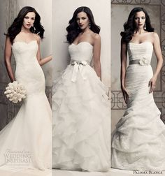 Our top 3 picks for Paloma Blanca 2013 Premiere Collection @ http://weddinginspirasi.com/2013/03/12/paloma-blanca-2013-premiere-collection/