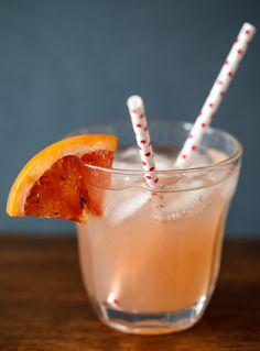 Grapefruit and Elderflower Cocktail