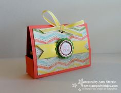 Something to coordinate with your book?  Epic Day Treat Holder  Epic Day paper  Tutorial for box included - Simply Scored