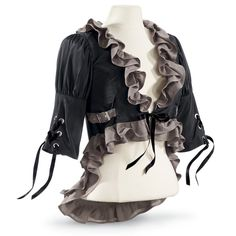 Grisette Jacket - New Age, Spiritual Gifts, Yoga, Wicca, Gothic, Reiki, Celtic, Crystal, Tarot at Pyramid Collection