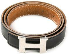 Hermes Vintage double sided belt on shopstyle.com