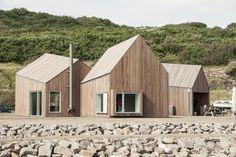 Hammerhavn - Master plan and multipurpose buildings. Location: island of Bornholm, Sænevej, Allinge, Denmark; firm: Cubo Arkitekter A/S