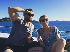Chris Hemsworth And Elsa Pataky Not