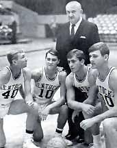 Rupp's Runts with Coach Adolph Rupp