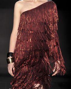 fringes, dress, fashion, style