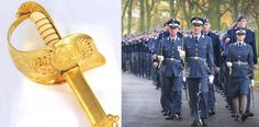 Royal Air Force Ceremonial Sword (Canadian & UK ERII)