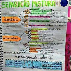 #RESUMO #QUÍMICA #SEPARAÇÃO #MISTURAS ❤❤❤ Também já está disponível para download no blog (RESUMOS ...