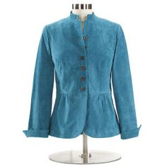 Suede Peplum Jacket - Women's Clothing, Jewelry, Fashion Accessories and Gifts for Women with a Flair of the Outdoors | NorthStyle