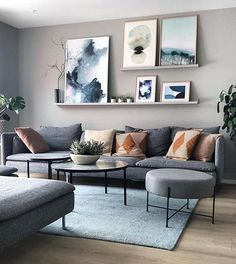 Gorgeous Attractive Living Room Wall Decor Ideas To Copy Asap. Gorgeous Attractive Living Room Wall Decor Ideas To Copy Asap. Elegant Living Room, Living Room Grey, Living Room Modern, Home Living Room, Apartment Living, Living Room Wall Ideas, Nordic Living Room, Cozy Living, Living Room Ideas With Grey Couch