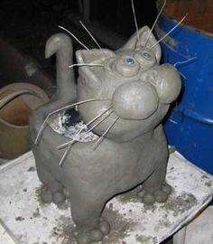 DIY-Suloinen-Cat-Kukka-Pot-from-muovi-pullo-ja-Sementin 5.jpg