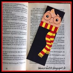 marque-page Harry Potter #harrypotter #marquepage