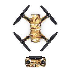 27 Colors Cool skin for DJI Spark UAV stickers full body PVC carbon fiber stickers For DJI Spark Accessories #Affiliate