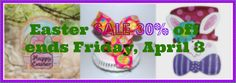 Easter Decorations from Show Me Decorating 30% off- Hurry supplies limited! @lisafroststudio, @gloryhaus, @theRoundTopCollection, @olgaw