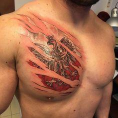 Great Tattoos, Body Art Tattoos, Polish Symbols, Poland Tattoo, Polish Tattoos, Spartan Tattoo, Eagle Tattoos, Lion Tattoo, Taps