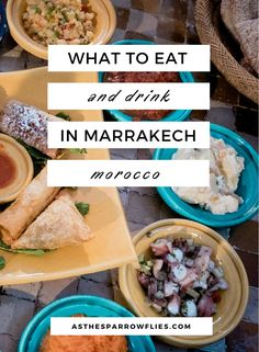 What to eat in Marrakech | Food guide to Marrakech | Moroccan Food | Where to eat in Marrakech #marrakech #traveltips