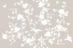 Ames Chinoiserie in Belgian Linen  fabric by lilyoake on Spoonflower - custom fabric