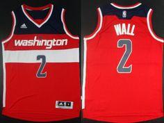 Washington Wizards #2 John Wall Revolution 30 Swingman 2014 New Red Jersey