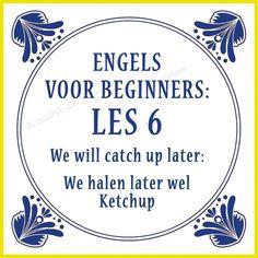 Engels voor beginners.