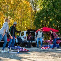 Slackers Zipline Hawk Zipline & Reviews   Wayfair Cornhole Set, Cornhole Boards, Kids Zipline, Triumph Sports, Tailgate Games, Wild Sports, Bag Toss Game, Corn Hole Game, Backyard Bbq