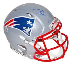 TOM BRADY Signed Authentic Patriots Revolution Proline Helmet TRISTAR - Game Day Legends
