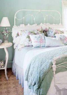 Dainty bedroom