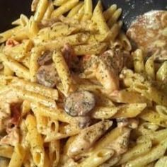 Spicy Shrimp and Chicken Pasta (Like Carino's) Recipe | Key Ingredient