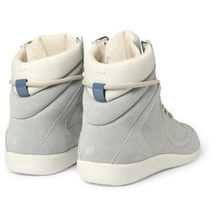 maison martin margiela- for dudes Sock Shoes, Men's Shoes, Shoe Boots, Baby Shoes, Fashion Essentials, Style Essentials, Leather High Tops, Athletic Fashion, Winter Shoes
