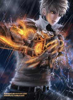 One Punch Man - Genos by jennyshiii