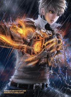 One Punch Man - Genos by jennyshiii.deviantart.com on @DeviantArt