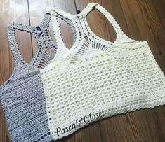 Knitting Crochet Bikini Top BE