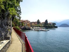 Like the floating clouds and flowing streams: Varenna: Lake Como, Italy